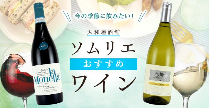 今の季節に飲みたい!おすすめワイン